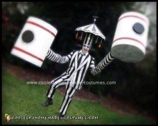 Handmade Beetlejuice Carousel and Hammerhands Costume