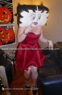 Homemade Betty Boop Costume