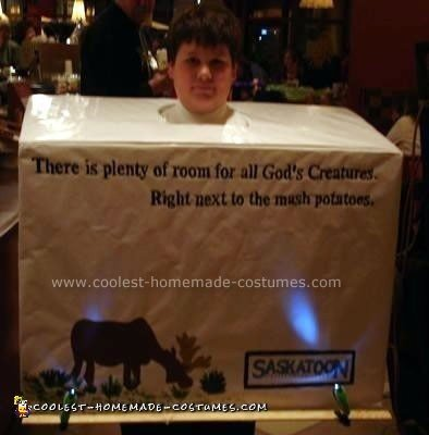 Homemade Billboard Costume