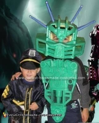 Homemade Bionicles Halloween Costume