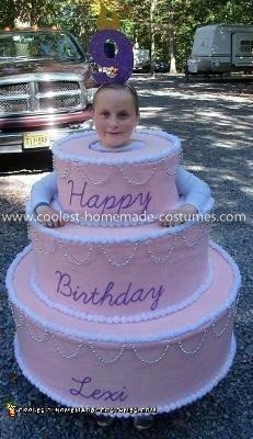 Coolest Birthday Cake Costume