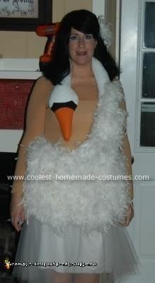 Bjork Swan Dress Halloween Costume