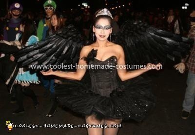 Coolest Black Swan Costume 7