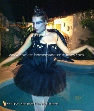 Homemade Black Swan Costume