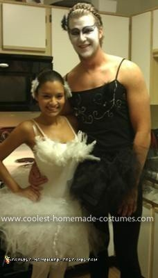 Homemade Black Swan Couple Costume