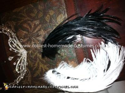 Coolest Black Swan White Swan Costume - Headpiece