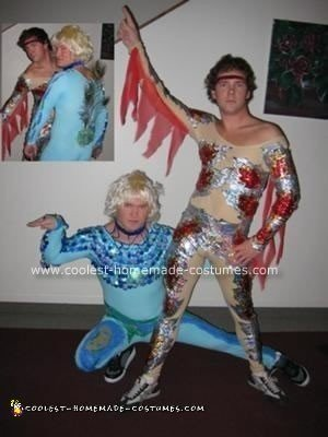 Homemade Blades of Glory Halloween Costumes