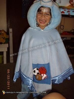Blanket Bear Costume