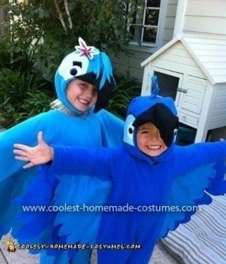 Coolest Blue And Jewel Macaw Costumes from Rio 3