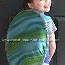 Homemade Blue Turtle Costume
