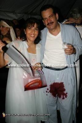 Homemade Bobbit Couple Costume