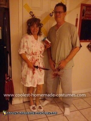 Homemade Bobbits Couple Costume