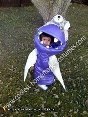 Homemade Boo Costume