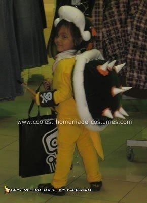 Homemade Bowser Jr. Halloween Costume