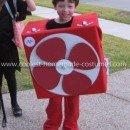 Homemade Box Fan Costume
