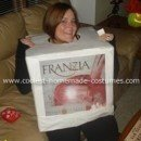 Box of Wine Costume