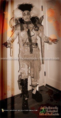 Homemade Bride of Frankenstein Costume