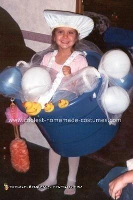 Reanna's Bubble Bath Costume