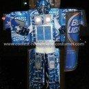 Coolest Bud Light Bottle Transformer Costume