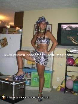 Homemade Bud Light Girl Costume