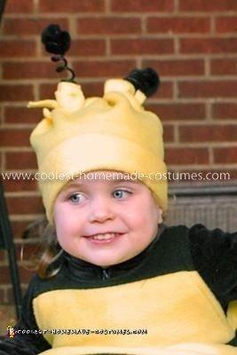 Homemade Bumble Bee Girl's Costume