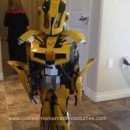 Homemade BumbleBee Transformers Costume