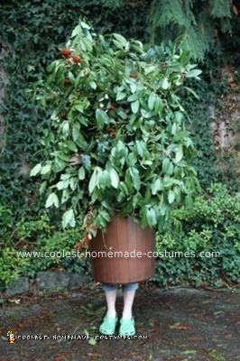 Homemade Bush Costume