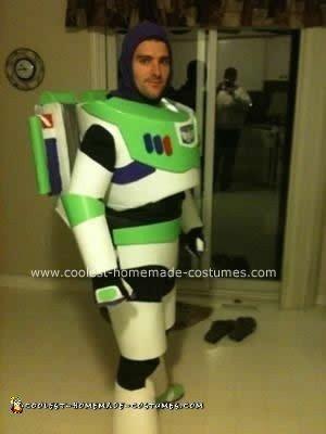 Homemade Buzz Lightyear DIY Halloween Costume