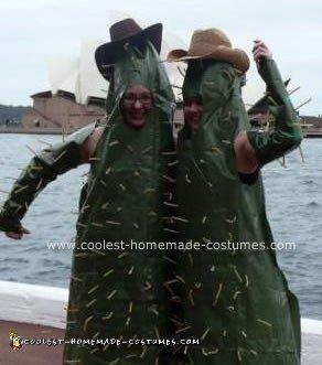 Homemade Cactus Costume
