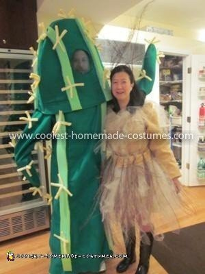 Coolest Cactus and Tumbleweed Costumes