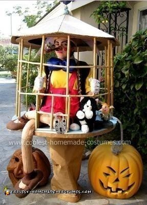 Caged Pinocchio Costume