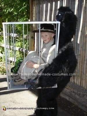 Caged Safari Boy Halloween Costume