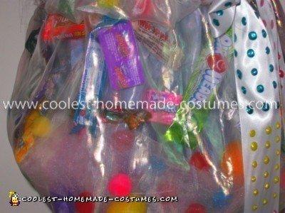 Homemade Candy Princess Costume