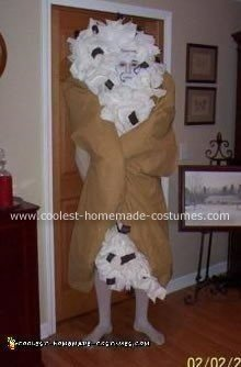 Homemade Cannoli Halloween Costume