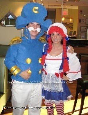 Homemade Cap'n Crunch Costume