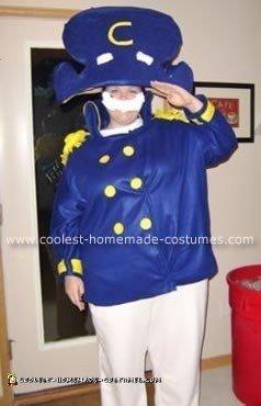 Homemade Captain Crunch Costume