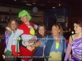 Homemade Captain Planet Costume