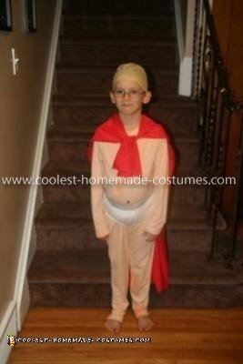 Homemade Captain Underpants Costume