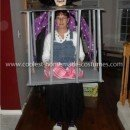 Homemade Captured Gretel in a Cage Costume