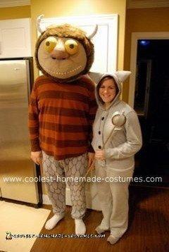 Homemade Carol and Max Couple Costume