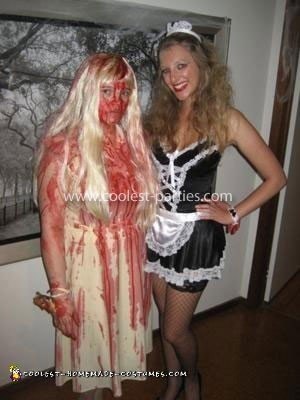 Homemade Carrie Costume