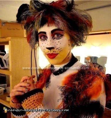 Homemade Cat Costume