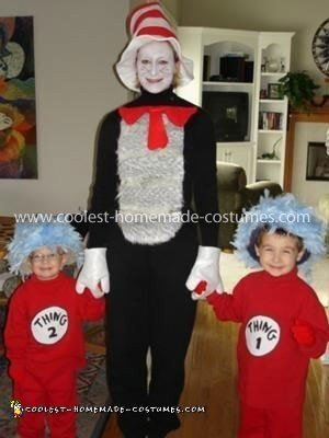 Coolest Cat in the Hat Family Costume