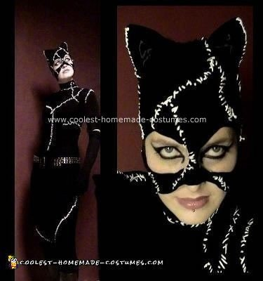 Homemade Catwoman Costume
