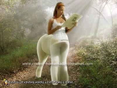 Homemade Centaur Costume - Half Horse, Half Woman