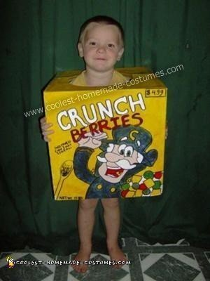 Cereal Box Prize Costume
