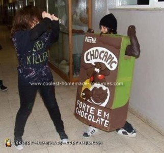 Cereal Killer And Cereal Box Halloween Costume