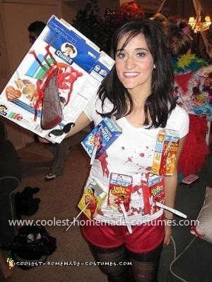 Homemade Cereal Killer Costume