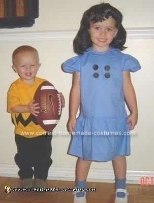 Charlie Brown And Lucy Costume