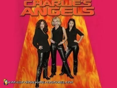 Homemade Charlie's Angels Costume